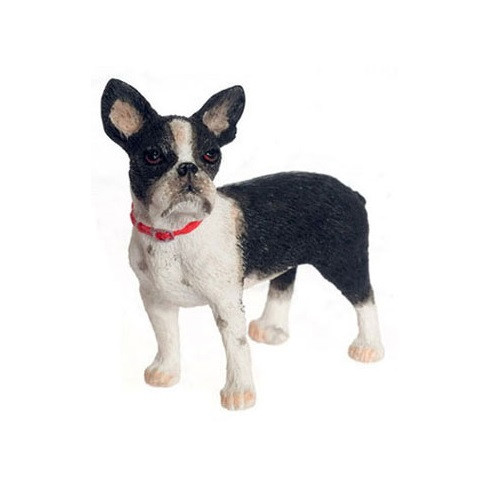 FCA3520 - Boston Terrier - Jeepers Dollhouse Miniatures