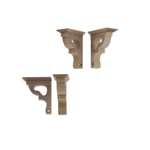 Alternative image of decorative dollhouse miniature corbel brackets