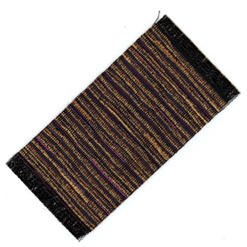 Small Jewel Tone Woven Rug