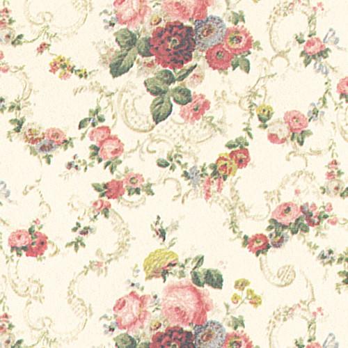 MG74D2 - Wallpaper, Roosevelt Rose (Pink)