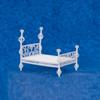 Dollhouse Miniature Scheherazade Bed (AZAL118) (blue background)