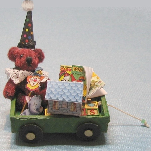 Wagon kit with toys