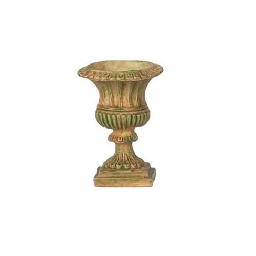 Dollhouse Miniature Roma Urn, Aged (FCA996AG)