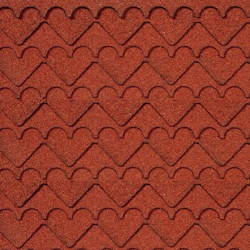Red Heart Pattern Asphalt Shingles (AL4000)