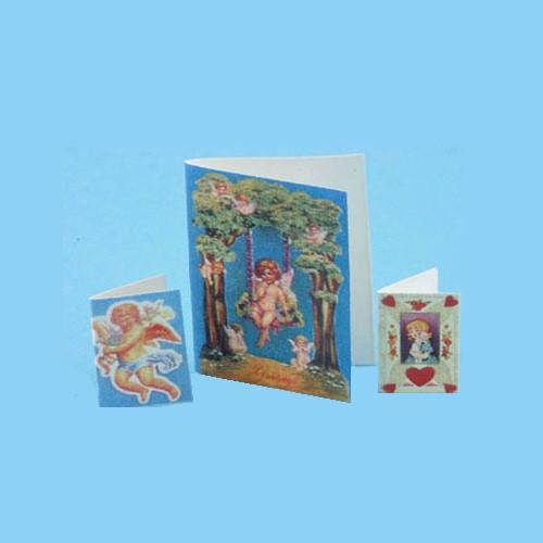 Dollhouse Miniature Valentines 3Pcs. (MUL4722)