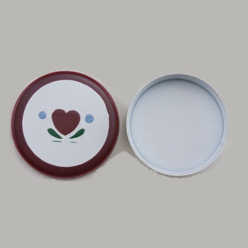 Round Tin, Heart Design (IM65626)