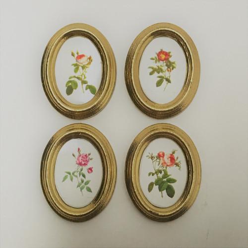 Set of Framed Oval Roses (MUL5372)