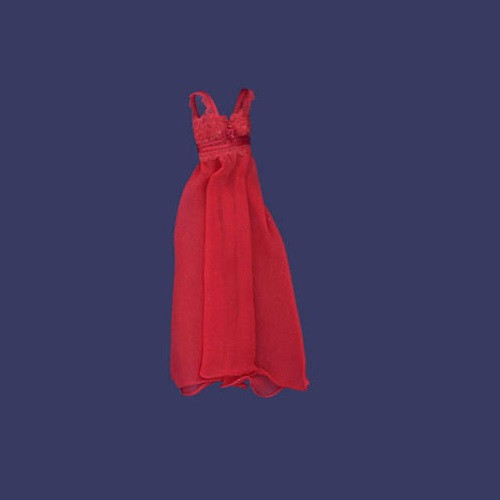 Long Night Gown Red (FCA1736)