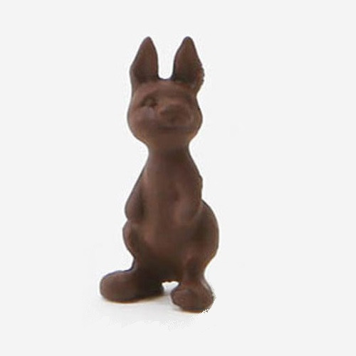 Dollhouse miniature chocolate bunny (MUL1699A)