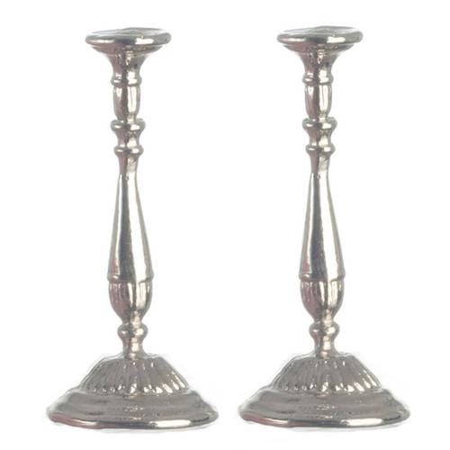 Silver Candlesticks (pair) (AZS2631)