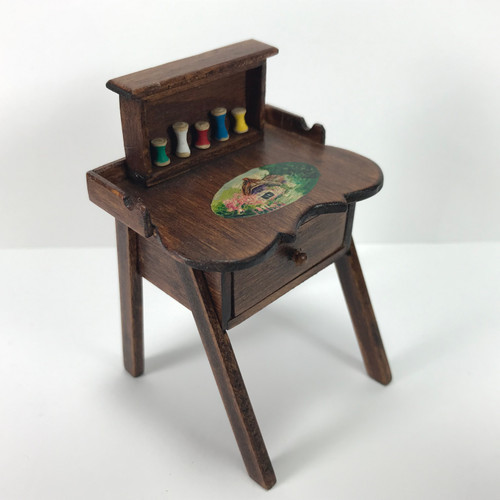 Hand-Painted Sewing Desk (IAM9802)