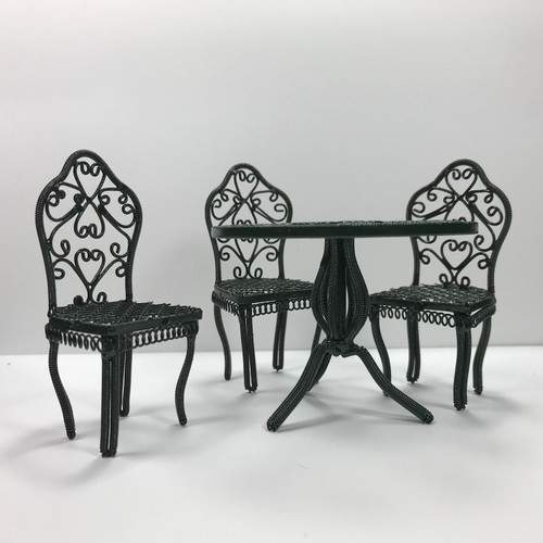 Garden Table and Chairs (MC18122) Set from eye level