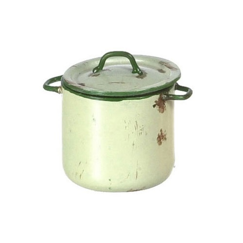 Large Beige Kettle Pot (AN1354BG)