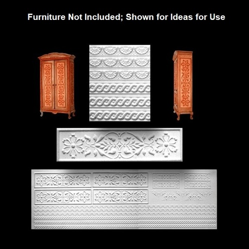 Furniture Deco Panels, 1 Sheet (WM34930)