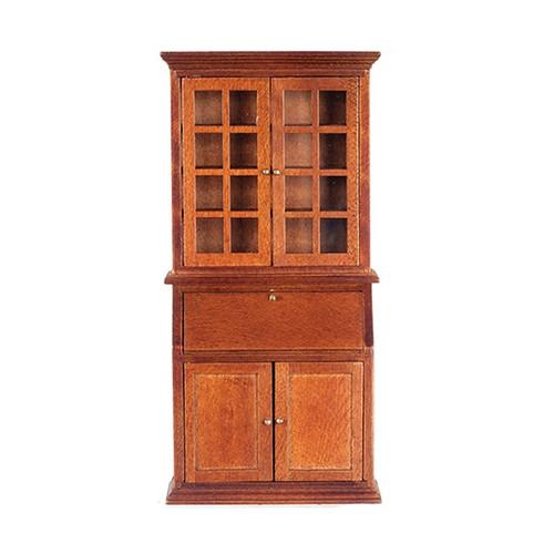 Bookcase secretary desk