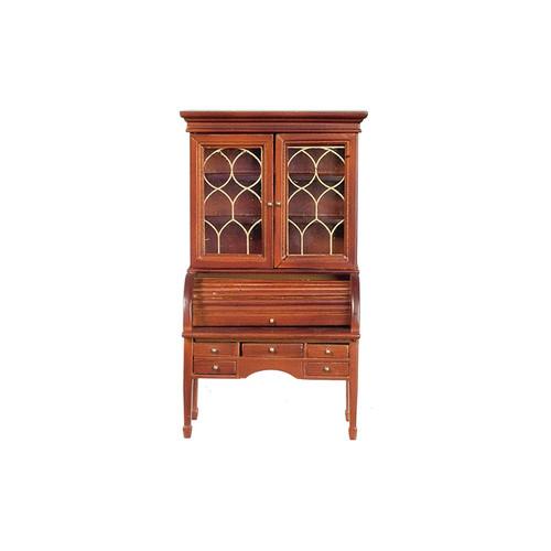 Miniature Colonial Secretary Desk, Walnut (AZT6644A)
