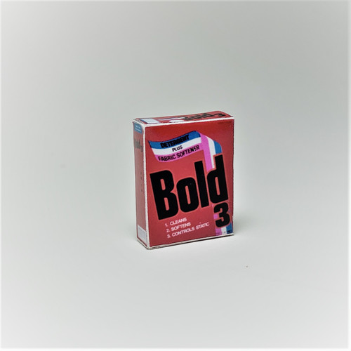 Bold Laundry Detergent Box (HR55026)