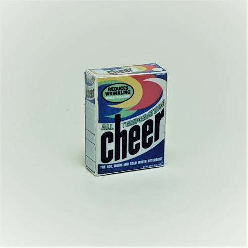 Cheer Laundry Detergent Box (HR55036)