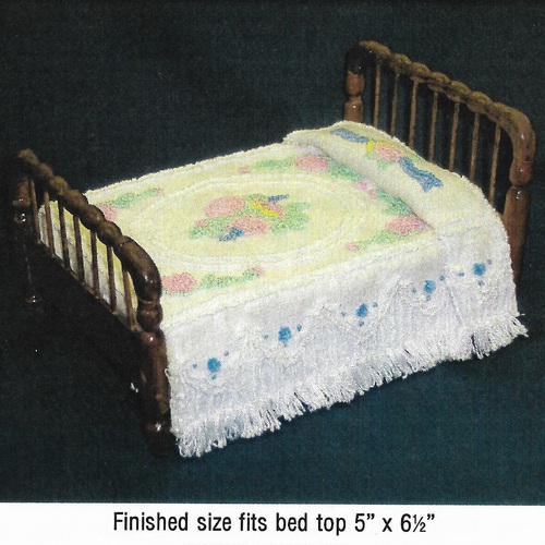 Colonial Chenille Bedspread Pattern (BNAMCH-C)
