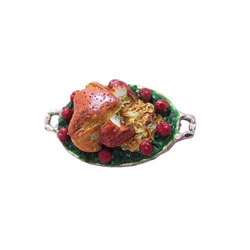 Roast Turkey On Platter (CAR0910)