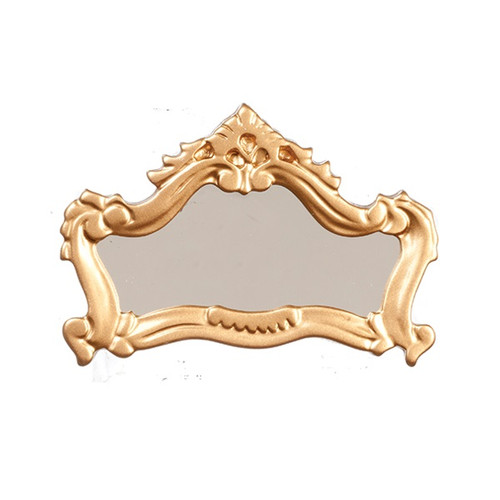 One-inch Scale Dollhouse Miniature Fireplace Mirror (AZT8086)