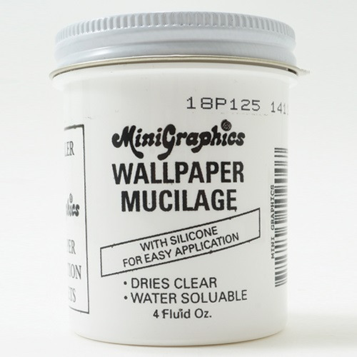 MG109 - 4 oz Wallpaper Mucilage (Paste) Jar Front