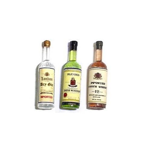 Liquor Set#1: Gin, Irish Whiskey, Scotch Whiskey (HR53974)