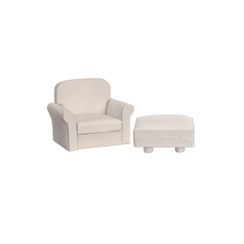 Chair and a Half w/Ottoman (AZT6788
