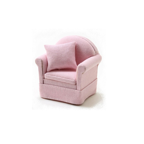 Chair With Pillow, Pink (CLA10905)
