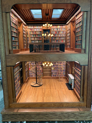 2 story library room box