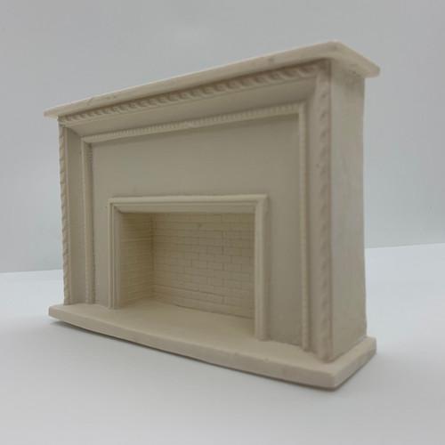 Fireplace (UMF14); bottom up front angle
