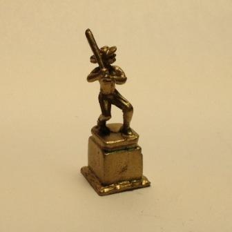 Miniature Dollhouse Woman/'s Basketball Trophy ISL