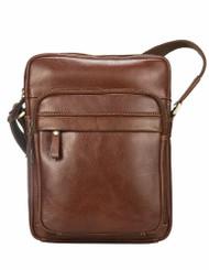 Visconti Cruz - Soft Quality Genuine Leather Cross-Body Bag / Messenger Handbag / Shoulder Bags VT1