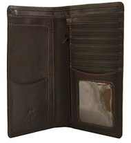Visconti Heritage-12 Soft Leather Checkbook Wallet (Brown) [Apparel]