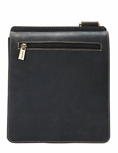 Messenger Bag Real Leather Large Expandable New Visconti Hunter 16121