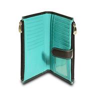 Visconti CD23 Jade Womens Soft Leather Bifold Wallet ,Purse, Clutch COLORADO ...