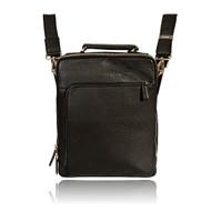 Visconti KR75 Pebbled Grain Leather Cross-body Messenger Bag / Backpack