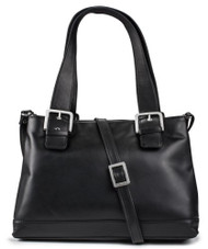 Visconti 18666 Womens Large Leather Shoulder Bag / Handbag / Messenger Bag