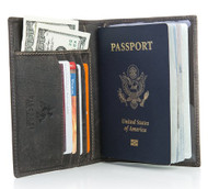 Visconti Hunter 732 Soft Leather Passport Cover / Holder Wallet Case [Apparel]