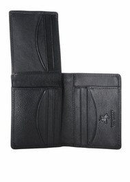 Visconti HT19 Classic Soft Leather Bifold Wallet with Flip up ID window/ Pass...