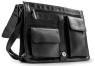 Visconti 753 Womens Large Leather Flap-over Shoulder / Crossbody Bag / Messen...