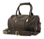 Visconti 16145 Quality Leather Medium Size Travel Duffel Bag