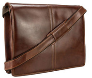 Visconti Vintage-7 Veg Tan Stylish Quality Brown Soft Genuine Leather Messenger Bag Cross-Body VT7