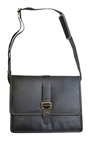 Visconti 16160 ZORRO Large Messenger Bag in Oiled Leather (Oil Brown) [Apparel]