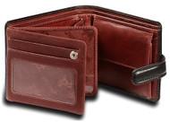 Visconti Atlantis TORINO TR-35 Top Quality Classic Tri Fold Wallet /Coin ID H...