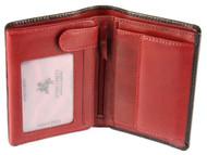 Visconti Waldorf TORINO TR-34 Top Quality Classic Tri Fold Wallet /Coin ID Ho...