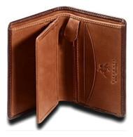 Visconti Ritz TORINO TR-33 Top Quality Leather Classic Bifold Card Case ID Wa...
