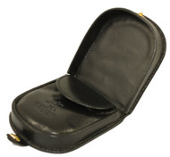 Visconti Polo T-5 Soft Leather Coin Purse Pouch Tray/Change Holder (Black)