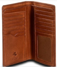 Visconti Carlo VICENZA VCN-20 Super Quality Leather BIFOLD Slim ID WALLET / C...