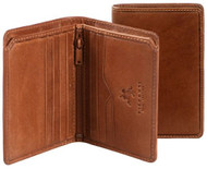 Visconti Giorgio VICENZA VCN-17 Top Quality Classic Slim Bifold Wallet [Apparel]
